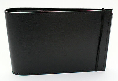 Black 5 x 7 in Quality Archival Slip In Pocket Photo Album holds 60 photos