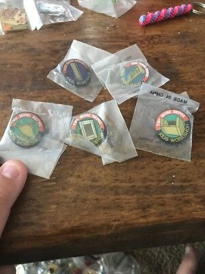 Home Depot Kids Workshop Lot of 5 Pins