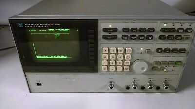 HP 3577A Network Analyzer 5Hz-200MHz POWERS ON AS IS READ AD