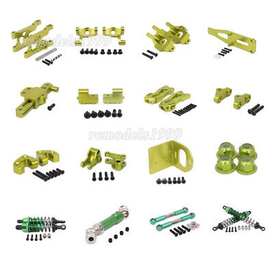 For RC Car 1/12 WLtoys 12428 12423 Alum DIY Parts Upgrade Parts Green