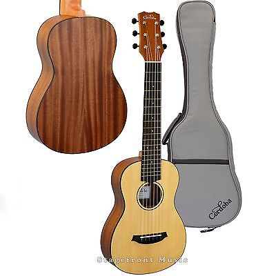 Cordoba Mini Mahogany Body Acoustic Nylon String Traveller Guitar