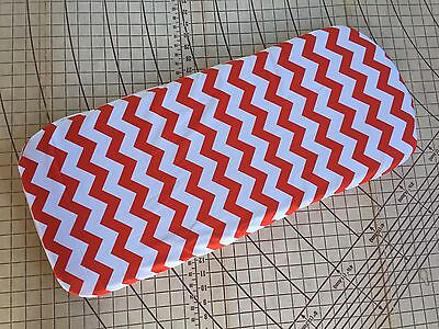 Bugaboo Buffalo fitted sheet for carrycot bassinet Orange Chevron
