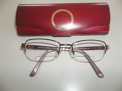 oroton reading glasses spectacle frames ladies with case
