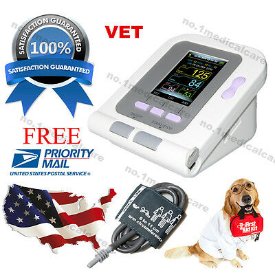 CONTEC08A-VET Electronic Sphygmomanometer+6-11cm NIBP cuff+USB PC Software, USA