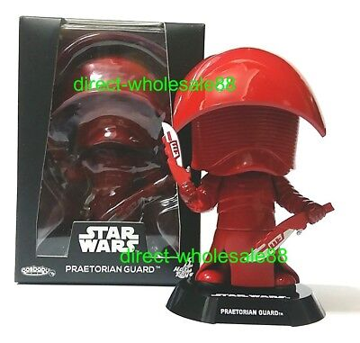 Star Wars The Last Jedi Hot Toys Praetorian Guard Cosbaby Disney Bobble-Head