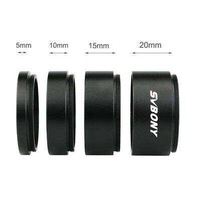 Sale T2 M42*0.75mm Thread Extension Ring Tube Set 5-20mm for Astronomy Telescope