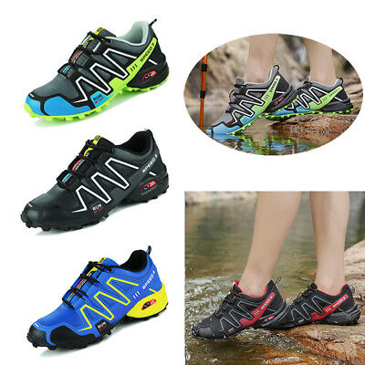 Men's Salomon Speedcross 3 Athletic Running Sports Trainers Outdoor Hiking Shoes