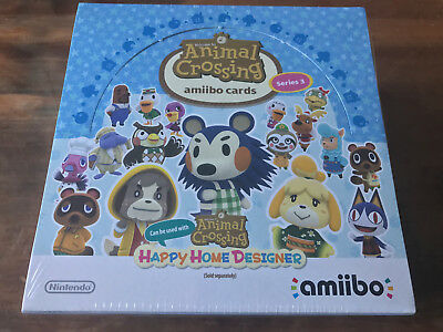 Animal Crossing Series 3 Amiibo Cards Box Of 42 Packets Brand New & Factory Seal