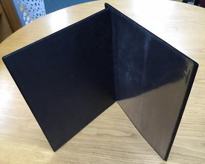 Menu Covers A4 two part Leather Look PVC + 3 Pockets (pack of 20)