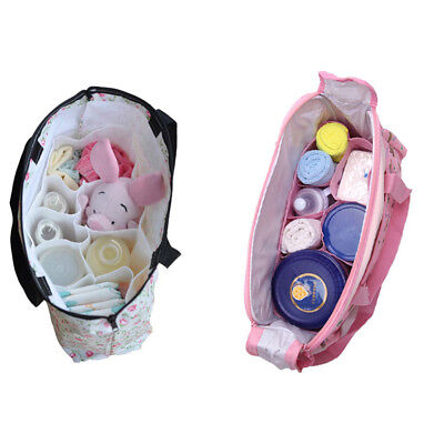 Portable Baby Diaper Nappy Changing Organizer Insert Storage Bag Outdoor Liner S