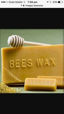 100% Pure Natural Australian Beeswax block suit cosmetics, 1/2 Kilo
