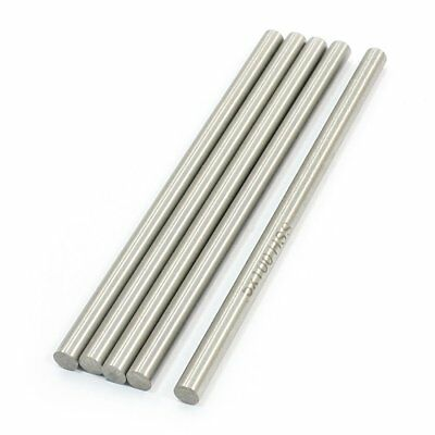 RC Helicopter 100mm x 5mm stainless steel Ground Shaft Round Rod 5Pcs Q7Z3