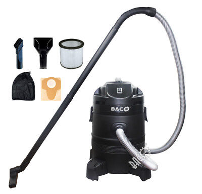 BACO Pond Vacuum Cleaner 1400 W 35 L Litre Koi Pond Pool Filter Pump Sludge Pump