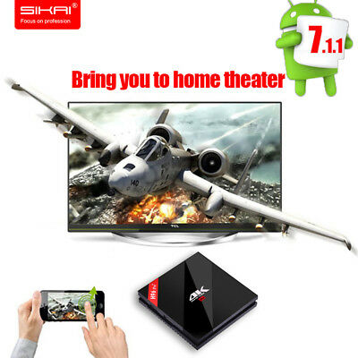 H96pro Plus Andriod 7.1 TV Box 3G / 32G Amlogic S912 Smart TV Box Home Streamers
