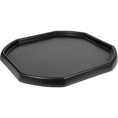 Large Black Plastic Mixing Tray Sand Water Play Children Builders Equipment Kids