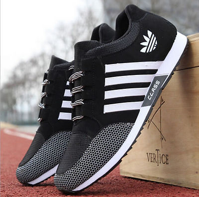 2017 New Mens Sneakers Canvas Mesh Fashion Breathable Sports Running Casual Shoe