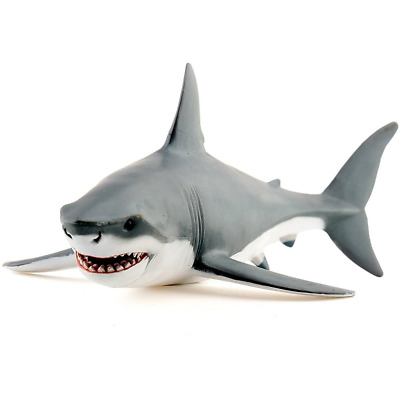 Papo 56002 White Shark Figure Naturally Looking Plastic Figurine Toy Collectible