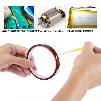 1pc Heat Resistant Adhesive Tape Sublimation Transfer Thermal Tape 30m For PCB