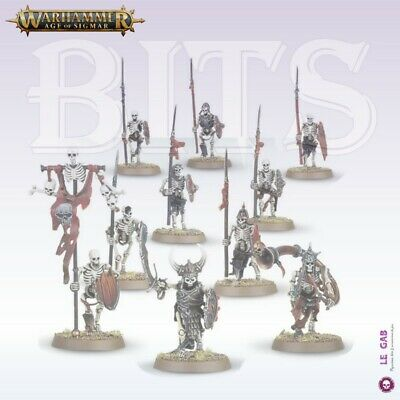 Bits Skeleton Warriors Vampire Counts Deathrattle Warhammer Battle Aos