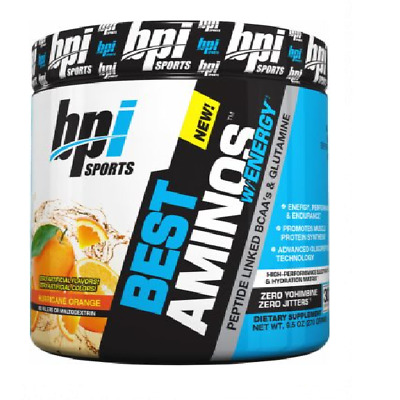BPI Sports Best Amino Energy Intra Workout Muscle Growth Recovery BCAA 300g