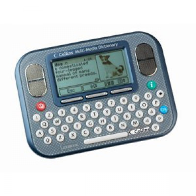 Electronic Dictionary Multimedia Digital LCD Display Word Audio QWERTY Keyboard