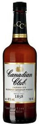6 Flaschen Canadian Club Whiskey 6 Years old a 0,7L 40% vol.