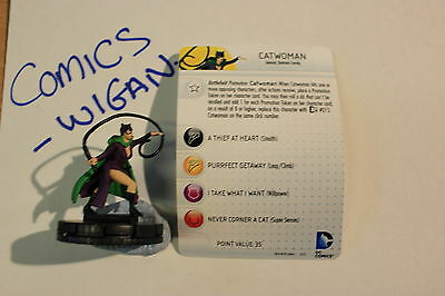 "DC HeroClix ""10th Anniversary"" #08 Catwoman"