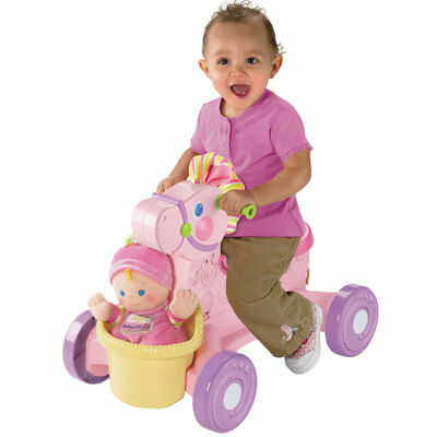 Fisher-Price Brilliant Basics Musical Pony, Kids Creative Toy, Only at Toys R Us