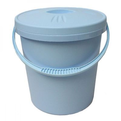 Junior Joy 16L Nappy Pail Bin with Lid Hygienic Storage Disposal Solution - Blue