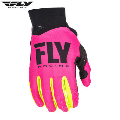 New 2018 Fly Racing Adult Pro Lite Gloves Motocross Enduro Pink S M L XL XXL