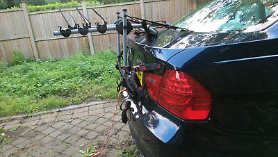Bike Carrier For Car - Mont Blanc made in Europe by Montblanc Group