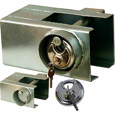 Trailer Caravan Coupling Hitchlock Universal Padlock Hitch Lock High Security