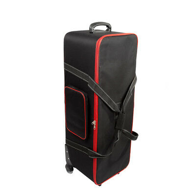 Roller Bag For Photography Photo Video Studio Light Wheeled Top Quality Durable