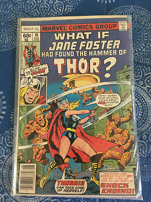What If? #10 (Aug 1978, Marvel) Jane Foster She-Thor NM!