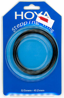 Metal Step-Up Ring, 55mm to 62mm