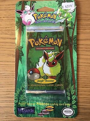 Pokemon Jungle Blister Pack - Sealed