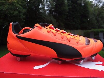 New Puma evoPOWER 4.2 H8 SG  Rugby Boots UK Size uk 13 / 48.5 lava orange  low