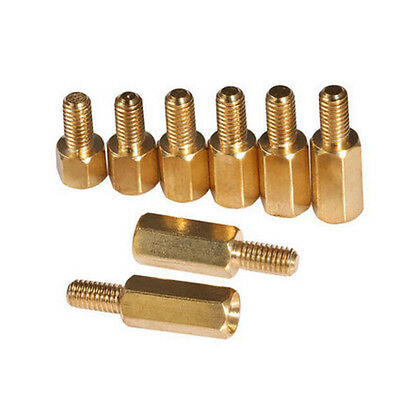 10-100 PCS Brass Hex Standoffs Support Spacer Support Screws M3 male female