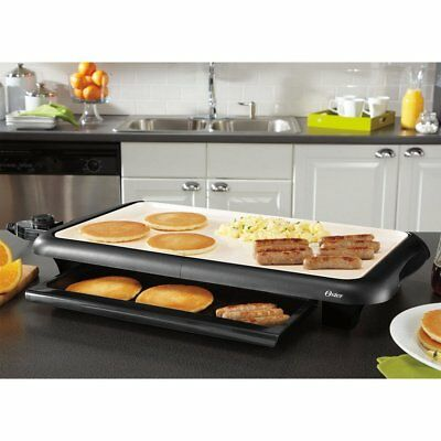 Electric Flat Top Grill Professional Commercial 24 Ceramic Kitchen Griddle