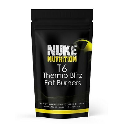 Fat Burners Fast Weight Loss Diet Pills - T6 Thermo Blitz - Strongest 100% Legal