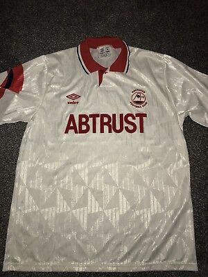 Aberdeen Away Shirt 1990/92 Large Rare And Vintage