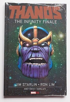 Thanos The Infinity Finale Hardcover Marvel OGN Graphic Novel Comic Book