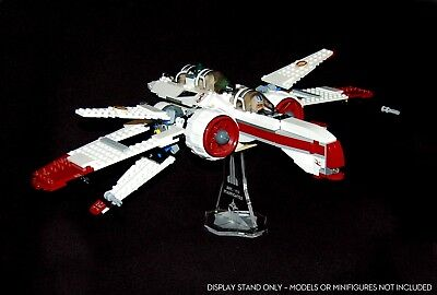 Star Wars Lego 8088 & 7259 ARC-170 Starfighter - custom display stand only no 1