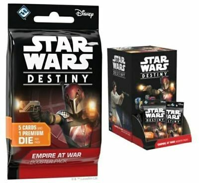 Star Wars Destiny EMPIRE AT WAR Booster Box New IN HAND FREE PRIORITY SHIPPING