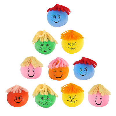 1-50 Stress Moody Faces Children's Party Bag Filler Toy Reward Prize Loot Pinata