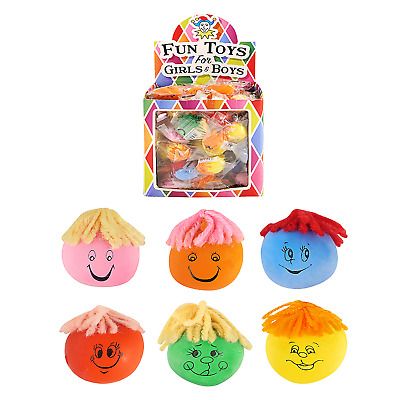 Bulk Job Lot Wholesale 84 Moody Faces Xmas Fair PTA Kids Party Bag Fillers Toy