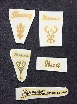 Guitar Headstock decals Ibanez