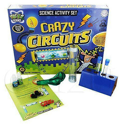 Weird Science Crazy Circuit Set Experiment Electronics LED Kids Balloons Test