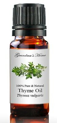 Thyme (White) Essential Oil - 5 mL - 100% Pure and Natural - Free Shipping