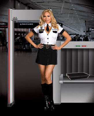 Dreamgirl Airline Costumes Sexy Tsa Strip